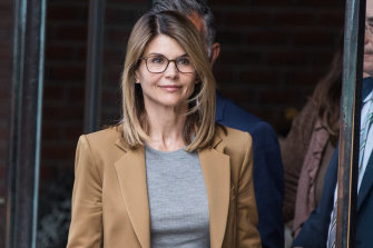 Actress Lori Loughlin has also been charged in the college admissions scandal.