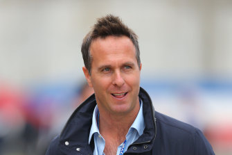 Former England cricket captain Michael Vaughan.