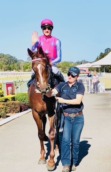 Back a winner: Oxford Tycoon returns to scale after winning at Wyong.