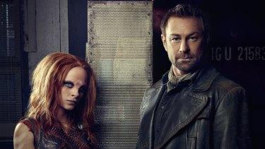 Grant Bowler stars in outlandish drama series Defiance.
