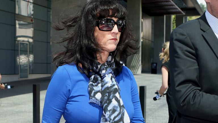 Carl Wulff's wife and co-accused Sharon Oxenbridge.