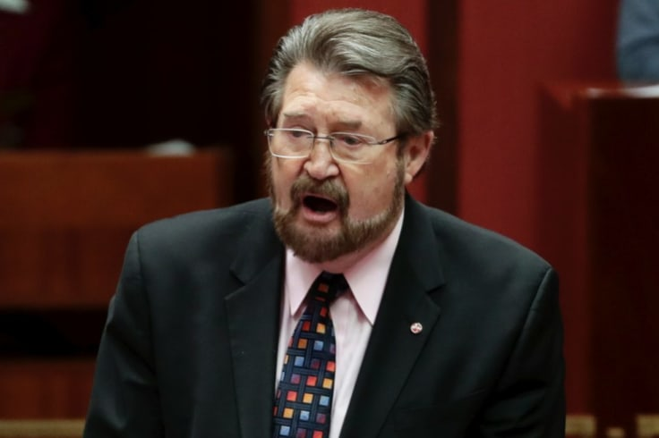 Senator Derryn Hinch has denied there is a conflict of interest in Druery's roles.