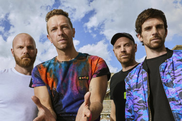 British four-piece Coldplay is back with their ninth studio album.