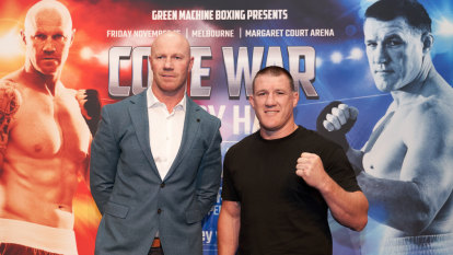 Gallen ready to 'shock' big, bad Barry Hall in cross-code bout