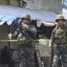 Philippine troops battle Muslim militants after church blast