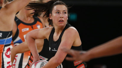 Delayed Super Netball season a lucky break for Magpie star Browne