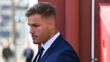 On a dramatic day for the Red V, Jack de Belin's rape trial was hit by an unexpected delay, just as news emerged that Newcastle had tabled a lucrative three-year deal for Tyson Frizell.