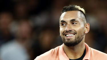 Kyrgios led the Australian charge on day two.