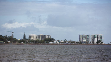 Woody Point, on the Redcliffe peninsula, forms part of the Moreton Bay Regional Council area.