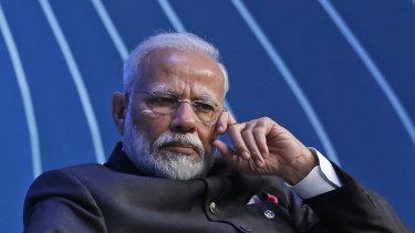 Pipped by India's Narendra Modi.