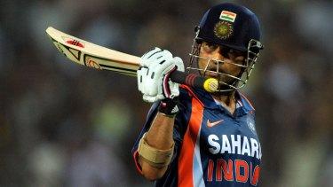 Retired Indian cricket champion Sachin Tendulkar is suing an Australian sports company.