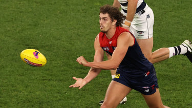 WA star and Demons utility Luke Jackson has been pivotal to Melbourne's success in 2021.