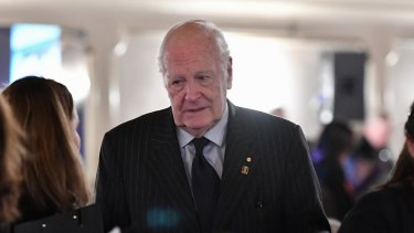 Former governor-general Peter Hollingworth, pictured last year.