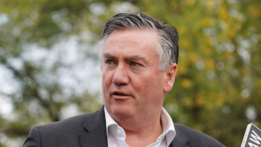 Collingwood president Eddie McGuire says there's no need to clarify his comments.