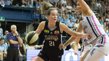 Keely Froling has found another level in her WNBL career.