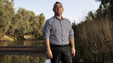 Deputy Premier John Barilaro has issued NSW's demands for the water sharing plan.