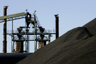 New Hope coal swung to a first-half loss on lower prices and a ramp down in production at its major mines.
