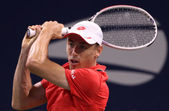 John Millman has broken through for his first ATP Tour title in his third final.