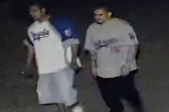 The Kansas City Police Department has released video of the two suspects.