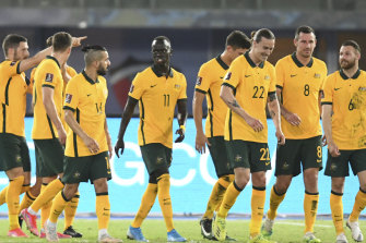 The Socceroos could be playing at home again beginning with October's WCQ.