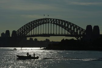 Sydney is forecast to reach a maximum of 17 degrees on Tuesday.