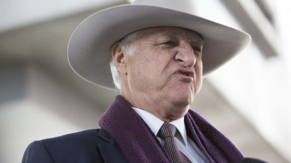 'Almost certifiable': Bob Katter pays political price for backing Fraser Anning's 'final solution' speech