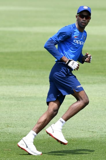 Out of line: Hardik Pandya has been sent back to India.