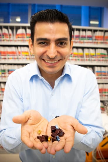 Sam Salman and his team have found a way to make bitter medicine go down.