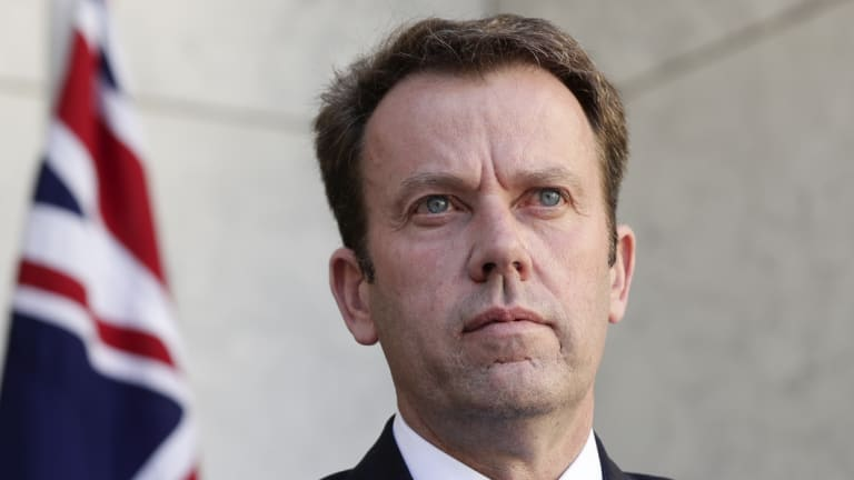 Federal Education Minister Dan Tehan wants protesters to pay their own security costs.
