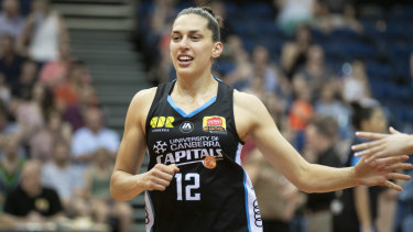 Marianna Tolo has ridden the Canberra Capitals rollercoaster to the verge of her third WNBL title.