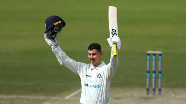 Maddinson had been in excellent form for Victoria.