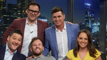 The new-look AFL Footy Show.