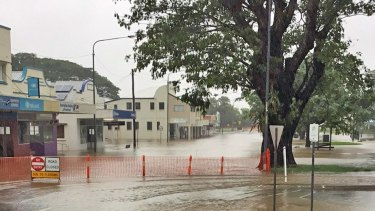 Queensland Fire and Emergency Services has warned floodwater could affect homes around Ingham and Halifax.