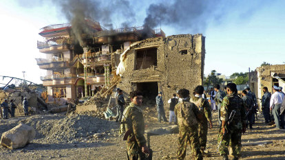 Taliban enter key cities in Afghanistan as US prepares to leave