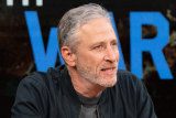 The Problem with Jon Stewart, the comedian's first TV show since he left The Daily Show in 2015, is airing on Apple TV+.