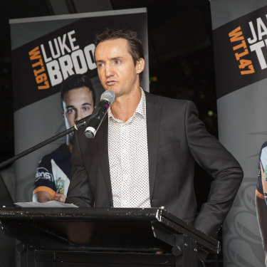 Jason Taylor believed he had a bright future at the Wests Tigers with Luke Brooks, James Tedesco, Mitchell Moses and Aaron Woods at the Tigers.