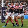 Mitchell's moment of magic sinks Gold Coast Titans