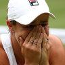 Ash Barty always had it in her to climb Wimbledon mountain