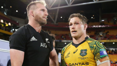 Kieran Read and Michael Hooper never thought they'd play on the same team.