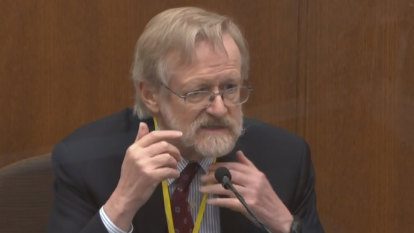 George Floyd died from a lack of oxygen, expert says at trial