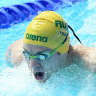 Temple lapping up hard work for Tokyo after breakout year in the pool