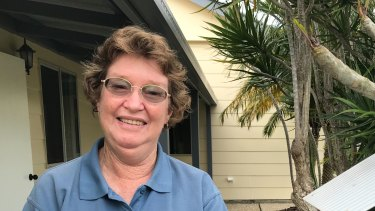 Judy Wilton believes 24-hour medical care on the island is a vote-winning issue.