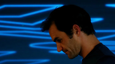 Roger Federer had 'massive regrets' after his fourth-round loss.