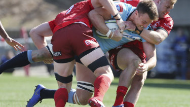 No.8 Jack Dempsey also continues to improve in his return to the NSW jersey.