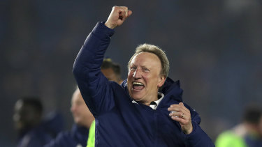 Neil Warnock was very pleased with his side's result.