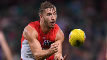Kieren Jack has been dropped from the Swans' side for this week's game against Fremantle.