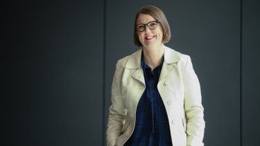 Microsoft chief acceessibility officer Jenny Lay-Flurrie.