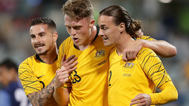 It's been a long time between drinks for the Socceroos.