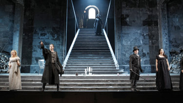 The gates of hell open for Don Giovanni in Opera Australia's new production.