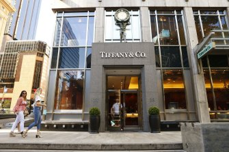 The Tiffany & Co store at Castlereagh Street and Martin Place had to move following the sale of the property.